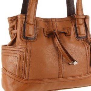 Tignanello Handbags - Tignanello leather Super Stitch Shoulder Bag