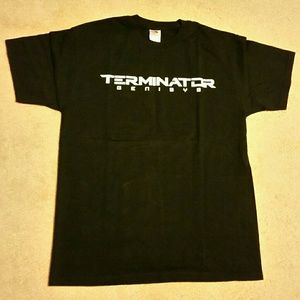 """Fruit of the Loom Other - """"JUST IN"""";Terminator tshirt"""