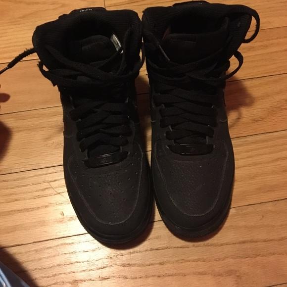 Nike Shoes | All Black Uptowns | Poshmark