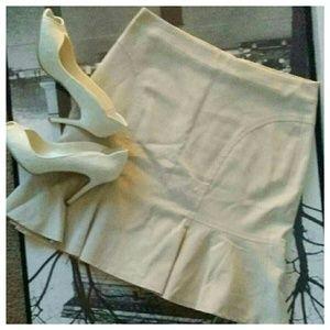 Akris Dresses & Skirts - Akris Punto Cream Beige Skirt