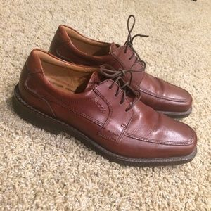 Ecco Other - Men's ECCO Dress Shoes - Brown, Lace Up, size 44