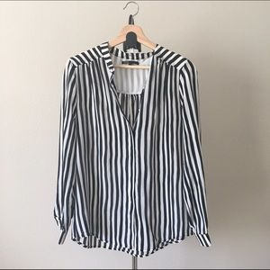 Maje Tops - Maje striped shirt in Size 2