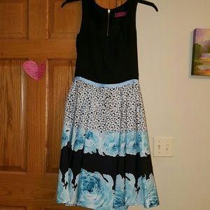 Melissa Masse Dresses & Skirts - Melissa Masse peony pattern dress