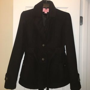 Copper Key Other - Girls 14/16 Copper Key BLACK coat BY DILLIARDS