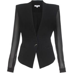 Helmut Lang Jackets & Blazers - HELMUT LANG Black Jacket