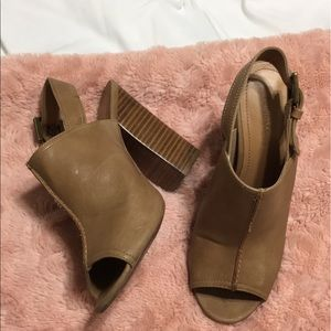 Nine West Chunky Heels ~ PERFECT for Summer
