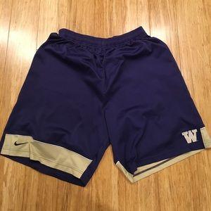 Nike Other - AUTHENTIC NIKE UW BASKETBALL SHORTS. SIZE XXL.
