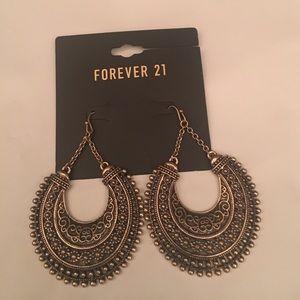 FOREVER 21 Antique gold Earrings