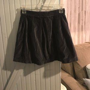 Frenchi Dresses & Skirts - Gray velvet skirt from urban outfitters