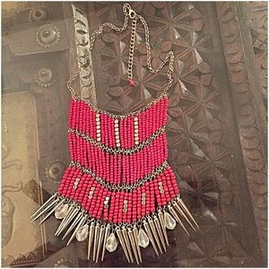 InEveryCorner Jewelry - 30% OFF BUNDLES😍Red Mixed Media Necklace😍