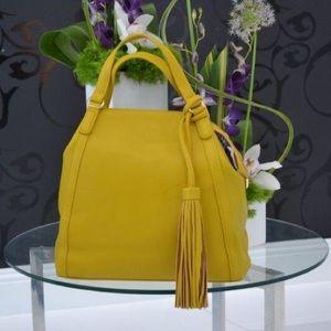 Pink Haley Handbags - ✨HP💫 Classic Mustard Tote!