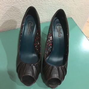 Candie's Shoes - ✨Candies Dark Brown Heels✨