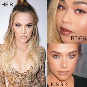 Kylie Cosmetics Other - 💯Authentic METALS Set: HEIR, REIGN & KING K
