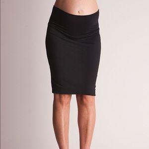 Seraphine Dresses & Skirts - Seraphine black stretch pencil maternity skirt S