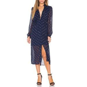 Bardot Dresses & Skirts - BARDOT Navy Blue with Gold Details XS
