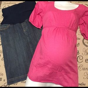 ❤️FINAL SALE❤️Maternity top size extra small