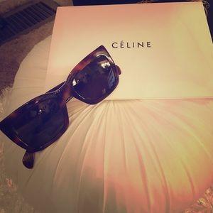 Celine Sunglasses.  Perfect condition.  Havana
