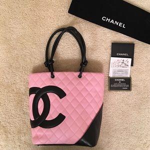 CHANEL Handbags - CHANEL CAMBON TOTE