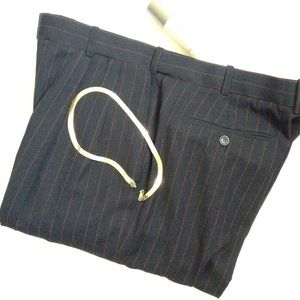 Vintage Other - Pinstripe FIRADO ITALY ROME DRESS PANTS S36