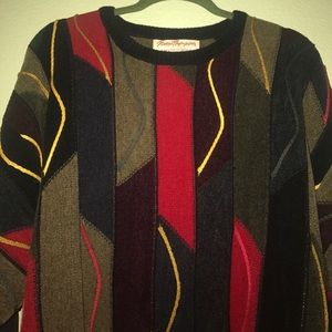 Vintage Other - Norm Thompson Multi Colored Vintage Style Sweater