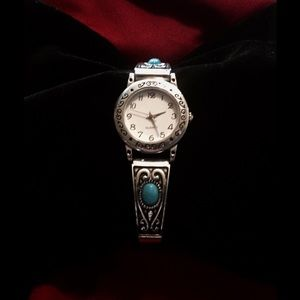Jewelry - Antique Turquoise Watch