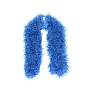 Accessories - Royal Blue Mongolian faux fur scarf❤