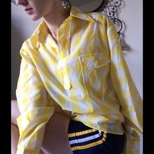 Obermeyer Other - Windbreaker Sunny Vintage Yellow Pullover Jacket
