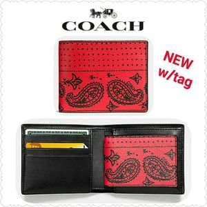 Coach Other - NEW Coach 3-in-1 Wallet w/ ID passcase