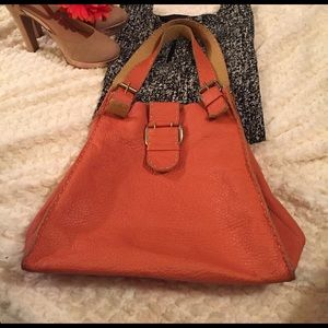 Carla Mancini Handbags - Carla Mancini Leather Hobo Handbag