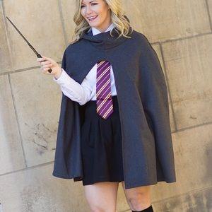 Jackets & Blazers - Grey cape