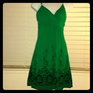 *Kelly Green Midi Dress*
