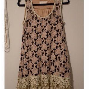 A'Reve Dresses & Skirts - A'Reve Lace Dress/Tunic
