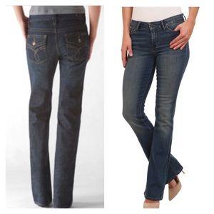 Calvin Klein Jeans Denim - Calvin Klein back flap pockets, boot cut jeans