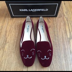 Karl Lagerfeld Shoes - Karl Lagerfeld Animal Embroidered Loafers