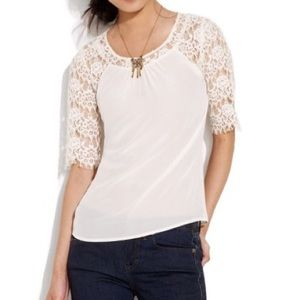 Madewell Flowerlace Top