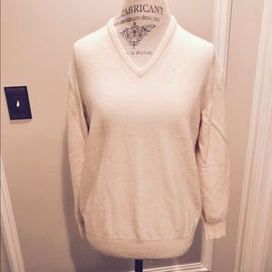 Loro Piana Other - LORO PIANA CASHMERE Men's Sweater Beige/Ivory