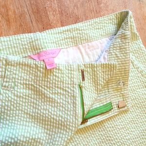 Lilly Pulitzer Pants - Final Drop🌷Lilly Pulitzer Cropped Seersucker Pant