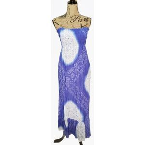 Cool Change Dresses & Skirts - COOLCHANGE Purple Ombré Tie-Dye Pull On Maxi Dress