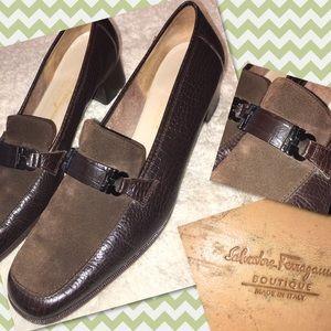 Salvatore Ferragamo Shoes - Salvatore Ferragamo Chocolate Brown Heels