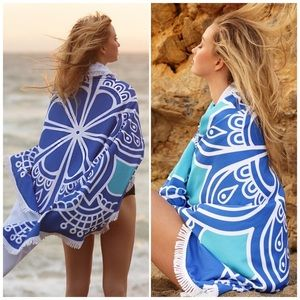 Bchic Other - 🆕 Blue Mandala Beach Throw/ Cover Up