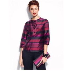 Talbots Tops - Talbots jewel-toned silk blouse