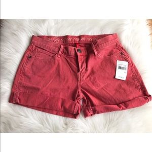 Earnest Sewn Pants - Earnest Sewn Jeans Pink Jean Shorts Sz 24 NWT