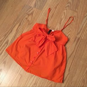H&M Tops - H&M orange tank top