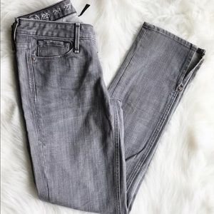 Earnest Sewn Denim - Earnest Sewn Jeans Sz 24 Gray Jeans Ankle Slit NEW