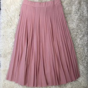 Dresses & Skirts - Accordion Pleated Midi Skirt (NWOT)