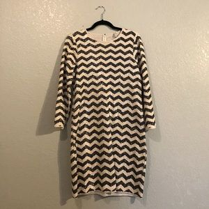 J. Crew Dresses & Skirts - Jcrew Sequined Chevron Dress in Size S