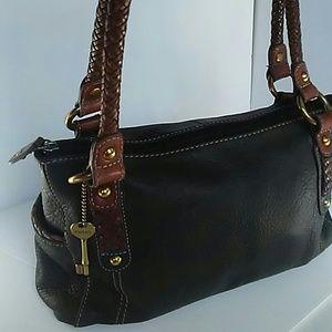 Fossil Handbags - SALE🌺😄Authentic Fossil Handbag Leather Black