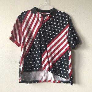 Patriotic American Flag Vintage Shirt