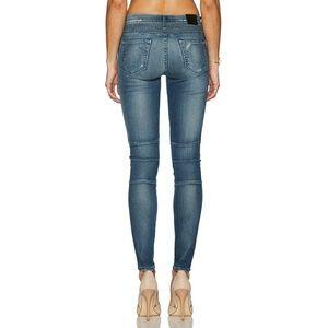 True religion halle biker super skinny jeans
