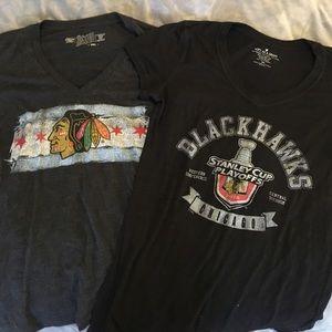 Original Retro Brand Tops - Blackhawks Bundle